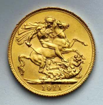 1 Sovereign Gold