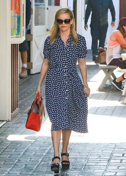 Reese Witherspoon is seen in Los Angeles, California.