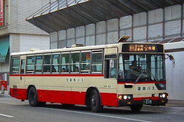 道南の路線バス その3 道南バス・苫小牧市営バス・あつまバス・千歳 ...