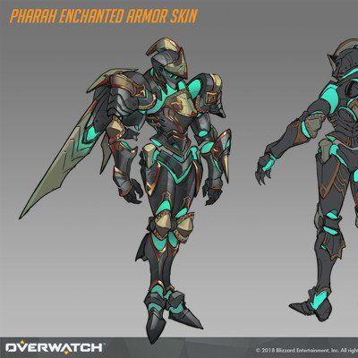 Overwatch Halloween Skins 2020 Pharah ArtStation   Anh Dang in 2020   Fantasy character design