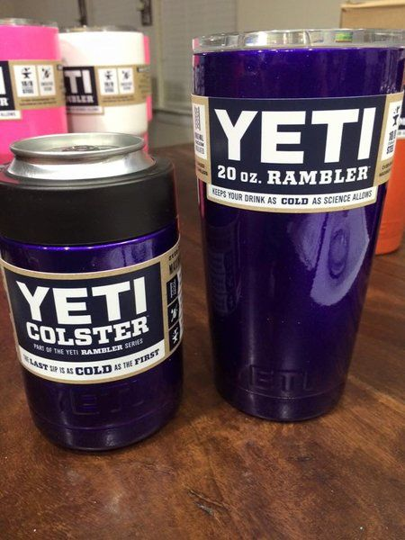 6c4ce9ef205 Custom Powder Coated Yeti Colster in Illusion Purple | JAS CustomZ |  Products I Love | Powder coating, Yeti cup, Dipped yeti cups