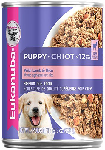 Eukanuba Wet Food 10154715 Puppy With Lamb Rice Canned Dog Food