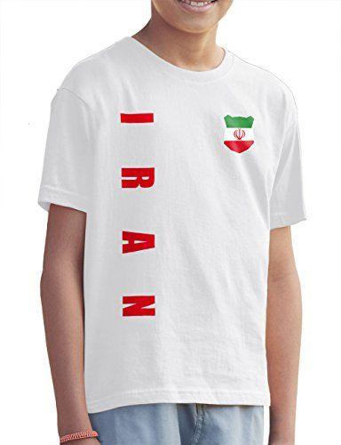 neuesten Stil von 2019 Schnelle Lieferung wie man kauft AkyTEX Iran Kinder Trikot Fanshirt T-Shirt Shirt WM 2018 ...