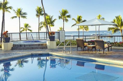 There's a spot in the pool waiting just for you at the Hilton Hawaiian Village Waikiki Beach Resort in Hawaii! Apple Vacations  click image to find a travel agent near you.