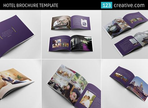 Hotel Brochure Template  This Is A  Pages Brochure