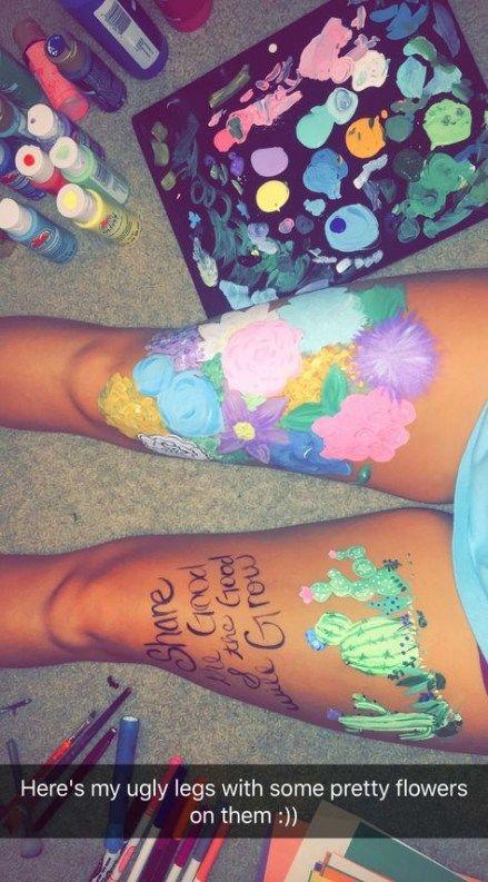 50 New Ideas Back Painting Body Art Tumblr Inspiration Body Art Painting Leg Art Leg Painting