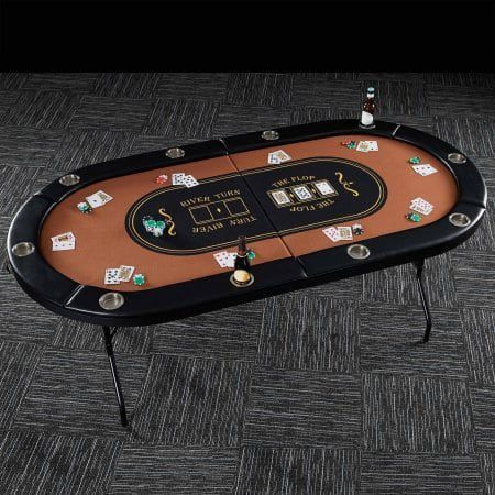 Top 10 Best Poker Tables In 2020 Reviews Poker Table Folding Poker Table Poker