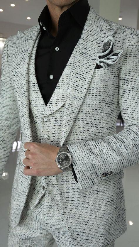 Platino Tweed Look