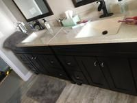 Diamond Freshfit Palencia 60 In Espresso Bathroom Vanity Cabinet Lowes Com Bathroom Vanity Cabinets Bathroom Vanity Vanity Cabinet
