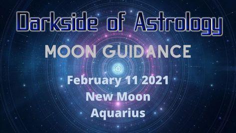 Aquarius New Moon February 11, 2021-Seven Aquarius Stellium-Astrology Fo...