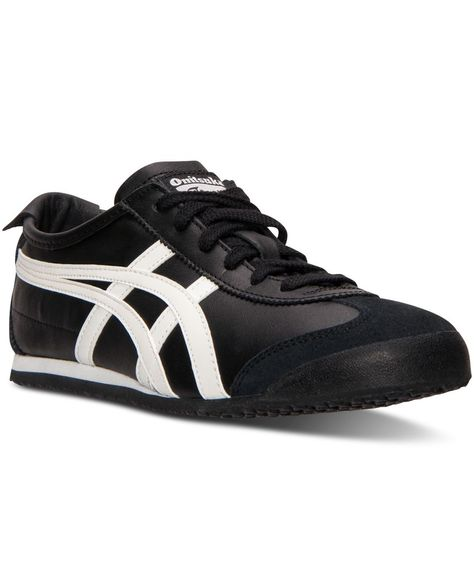 onitsuka tiger mexico 66 black glacier grey utility lady