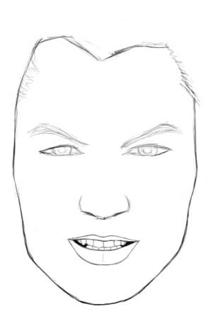 How To Draw Realistic Faces Male Boy Drawing Realistic Drawings Face Drawing