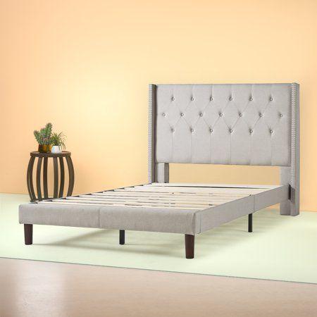 Home Platform Bed Frame Upholstered Platform Bed Twin Size Bed