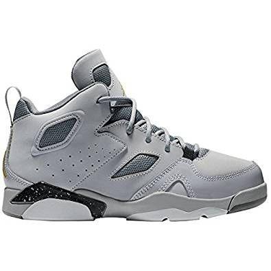 Jordan Nike 555470 101: Boys Flight Club '91 WhitePlatinum