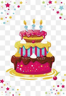2020 的 Three Layer Birthday Cake Birthday Clipart Cake Clipart
