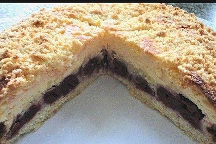 Schnelle Kirsch Quark Torte Von Heeschen Chefkoch Rezept Torten Lebensmittel Essen Backrezepte