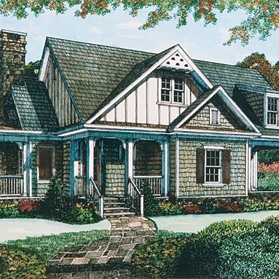 18 Small House Plans Under 1,800 Square Feet | Rustic Style, Flexibility  And Compact