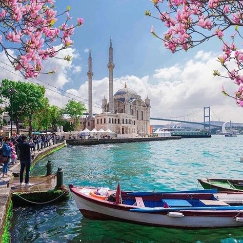 The Iris June Featured Country is Turkey! Check out this amazing view in Istanbul, and check out our Turkey Collection on iristrends.com!