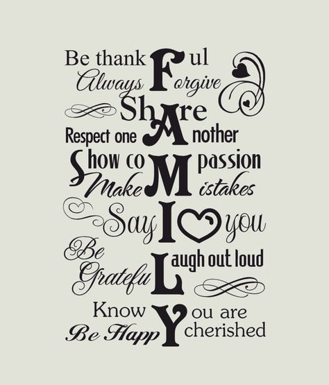 FAMILY - subway vinyl wall decal I use removable matt finish vinyl and will include written instructions with all purchases.    What you will