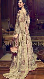 Pakistani Bridal Lehenga by Faraz Manan