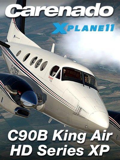 CARENADO : C90B King Air HD Series XP11 Special Features
