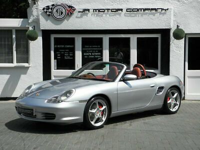 For Sale 2004 Porsche Boxster 3 2 S Manual Polar Sliver Huge Spec New Clutch Porsche Boxster Porsche Boxster