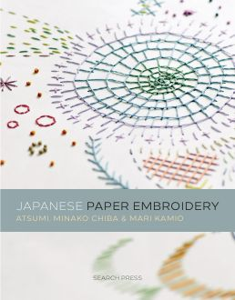 Japanese Paper Embroidery by Mari Kamio