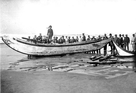 Mar de Caparica: A tragédia do Pensativo por Norberto de Araújo