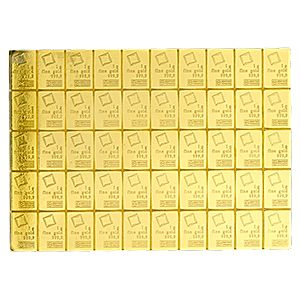 Valcambi Gold Combibar 50x1 Gram The 50 Gram Gold Combibar From Swiss Refiner Valcambi Is A Unique Investmen Gold Bullion Gold Bullion Bars Gold Investments