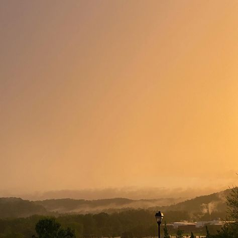 Beautiful evening in the rain.  #nofilter #sunset