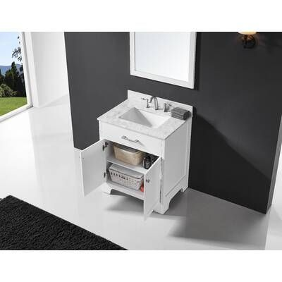 24 Single Bathroom Vanity Set Single Bathroom Vanity Vanity Set Vanity Set With Mirror
