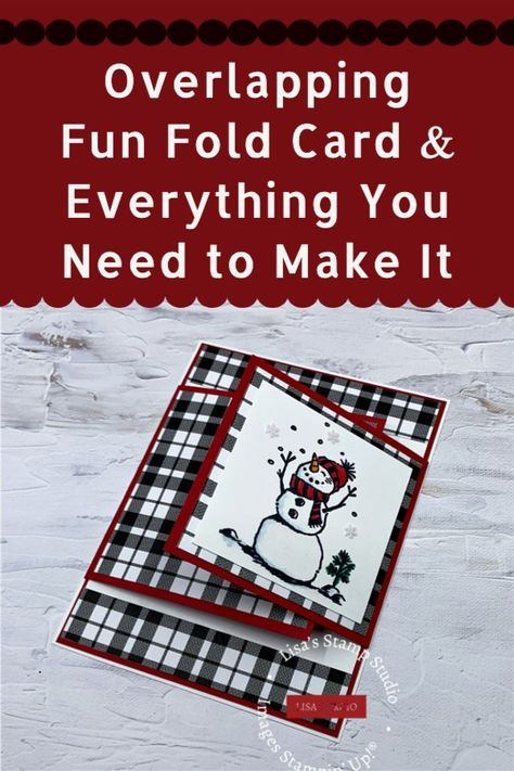 Card Making Tutorials, Card Making Techniques, Making Ideas, Homemade Greeting Cards, Greeting Cards Handmade, Christmas Cards To Make, Xmas Cards, 21 Cards, Fancy Fold Cards