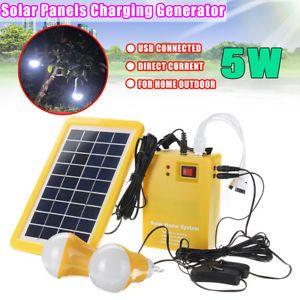 12v Dc Solar Panels Lighting Charging Generator Power Energy System Home Outdoor Solar Panels Solar Panel Cost Solar Panel Battery