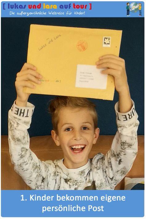 1. Kinder bekommen eigene persönliche Post 2. Jeden Monat aus einem anderen Land  3. So lernen sie spielerisch die Welt kennen  --> Jetzt verschenken!