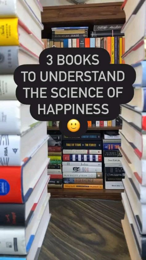 Best Books to understand the science of happiness 📚✨