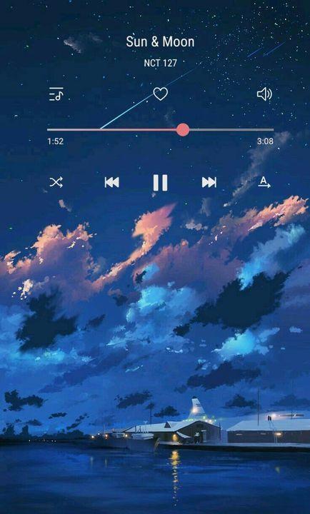 Nct Wallpaper Random Playlist Wallpaper Latar Belakang Pemandangan Langit Malam