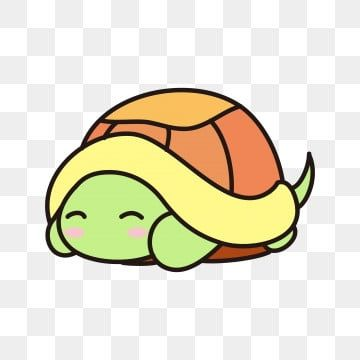 Cartoon Hand Painted Tortoise Shy Turtle Turtle Clipart Green Turtle Coward Png And Vector With Transparent Background For Free Download Cartoon Turtle Cute Turtle Cartoon Turtle Painting