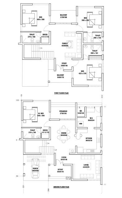 Small Plot 4 Bedroom Smart Home Design With Free Home Plan Free Kerala Home Plans Free House Plans Bungalow Floor Plans Small Contemporary House Plans