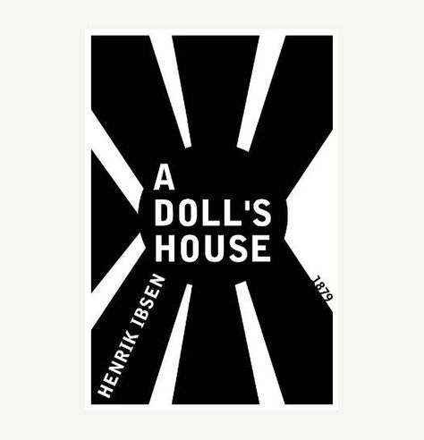 A Doll S House Henrik Ibsen Book Cover Poster Literary