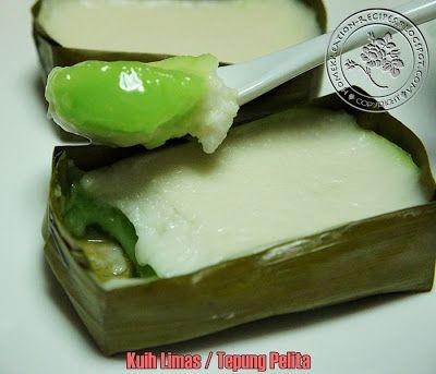 Kuih Limas Aka Tepung Pelita Asian Desserts Food Recipes