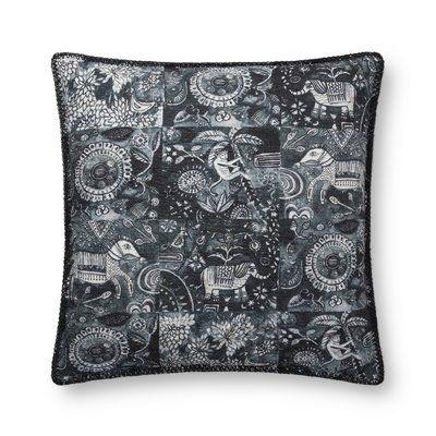 Loloi X Justina Blakeney Throw Pillow Modern Throw Pillows