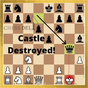 Importance Of Protecting The Castle In Chess In 2021 Chess How To Play Chess Chess Pieces