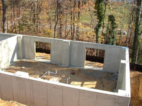 With laying the foundation, your house-build has truly begun. Footers are laid, foundation poured, and sides are waterproofed.
