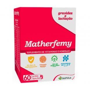 Matherfemy Suplemento Para Gestantes E Lactantes 60 Capsulas