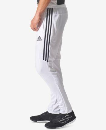 adidas Men's ClimaCool Tiro 17 Soccer Pants - White/Black L ...