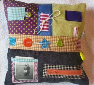 Sensory cushion for Dementia sufferers