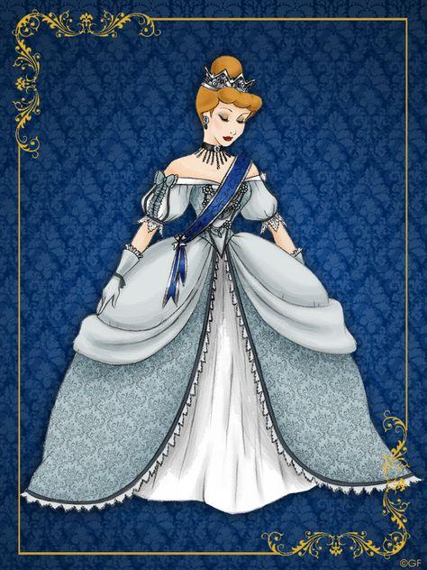 Картинка королева золушку
