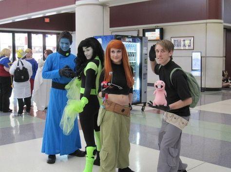 Kim Possible Group cosplay Syafiqah