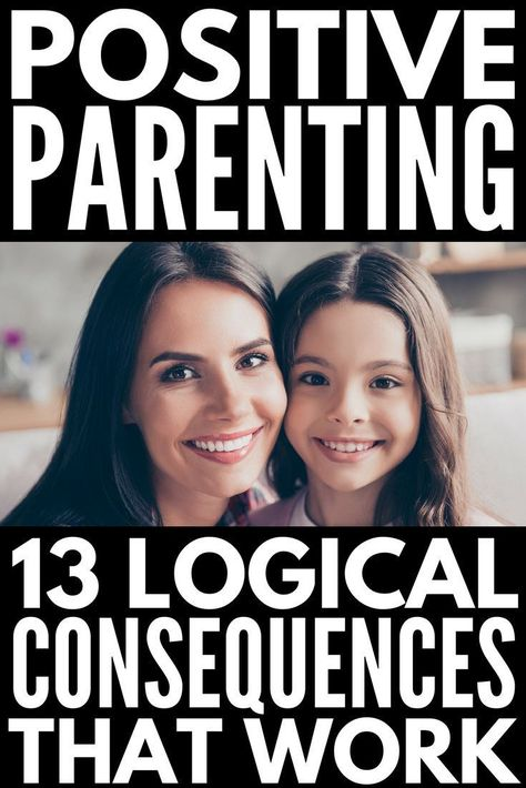 13 Logical Consequences that Actually Work | Enforcing logical consequences in the classroom and at home is a fabulous way for teachers to encourage good classroom behavior and parents to get kids to behave without yelling, but knowing HOW to use logical consequences (and how to implement them successfully) can be tricky. We're sharing our best positive parenting tips and 13 logical consequences that actually work! #parenting #parenting101 #positiveparenting #parentingtips