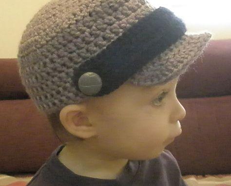 Blog de Goanna: Patrón de Gorra Visera en Crochet